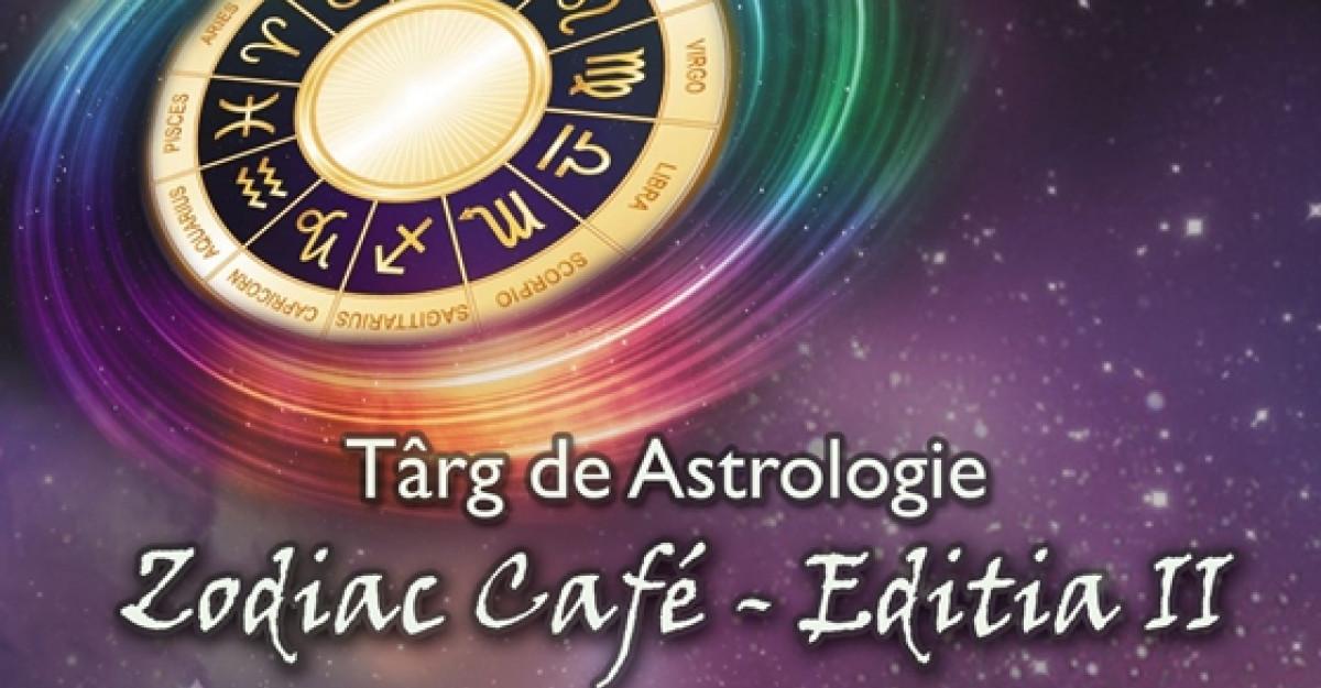 In premiera la Zodiac Cafe, lansarea cartii astrologului Alexandru Nicolici si tombola Zodiac Cafe!