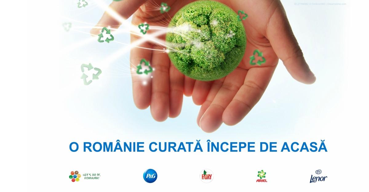 Parteneriat P&G și Let's Do It, Romania! pentru o Românie mai curată