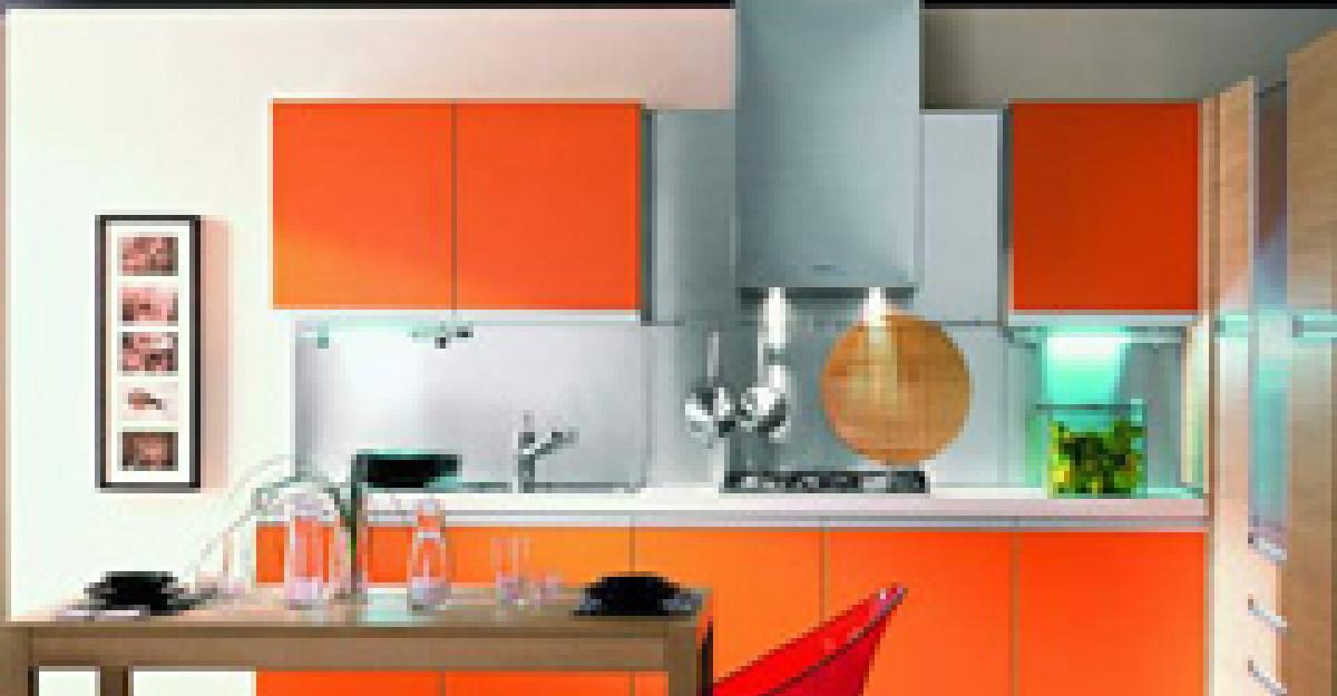 Cum alegem culorile pentru bucatarie?