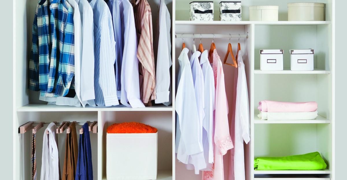 Cum sa iti organizezi garderoba de toamna: cutii si accesorii utile pentru ordonare
