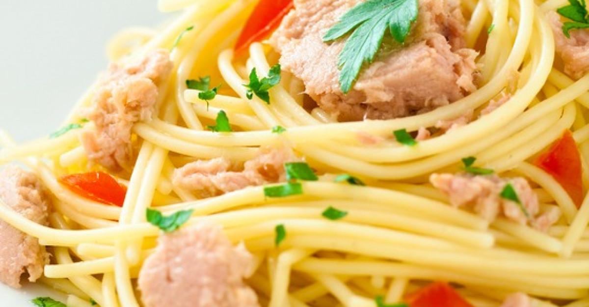 Spaghete cu ton, un deliciu culinar italienesc