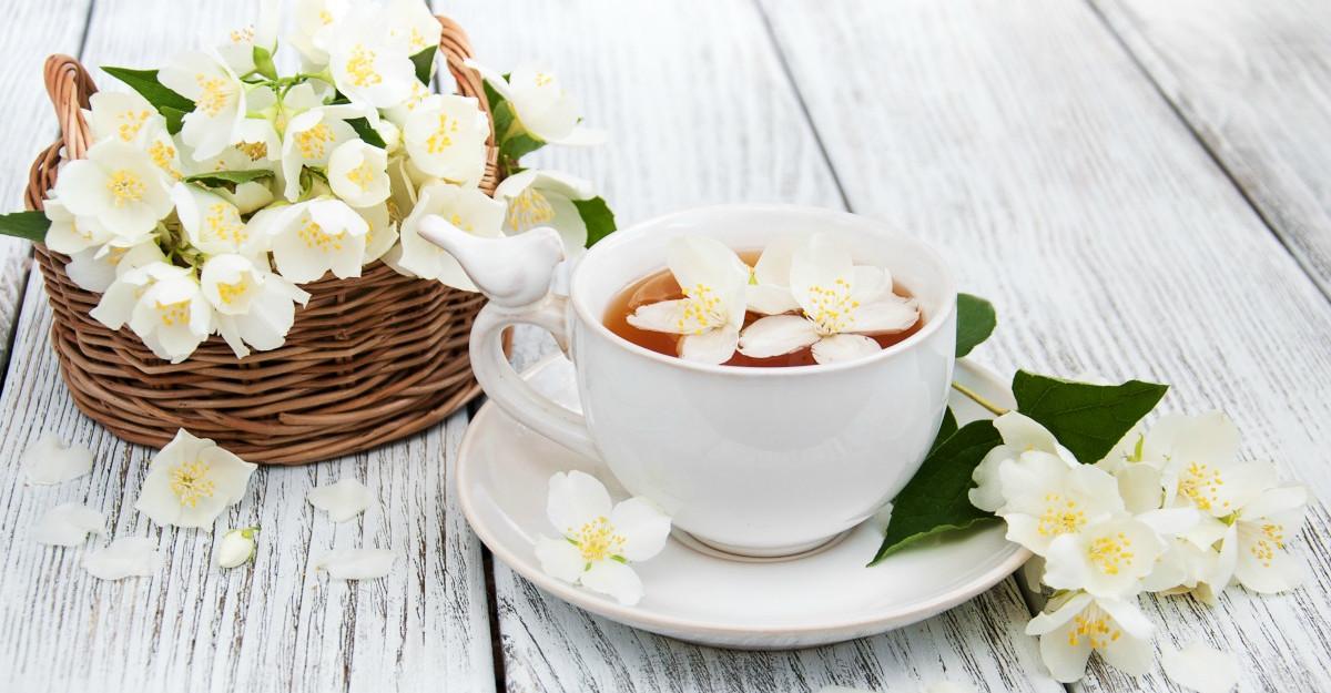 Ceaiul de iasomie are efecte miraculoase