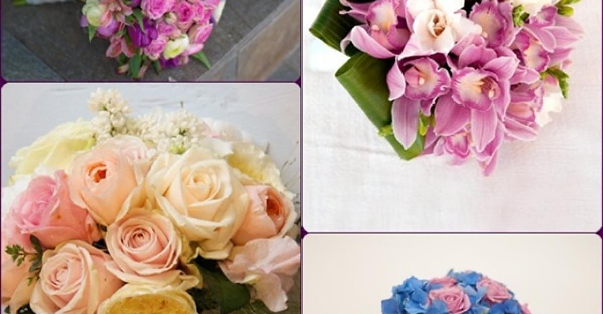 Buchete de mireasa: Florile lunii noiembrie