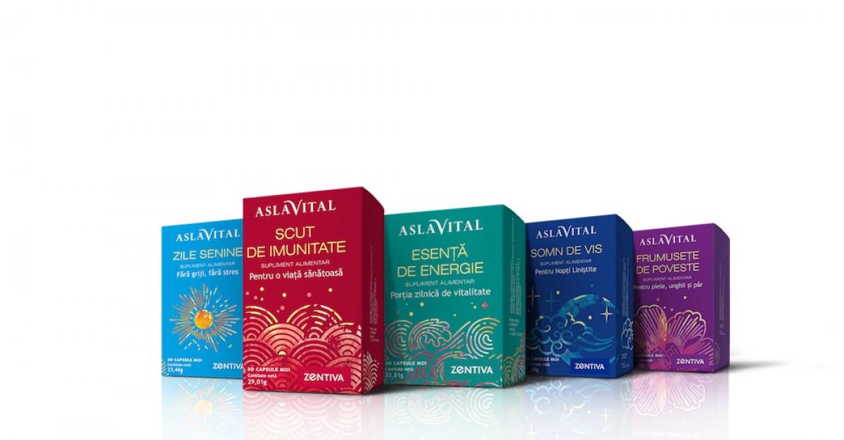 PREMIERĂ Zentiva lansează prima gamă de suplimente alimentare sub brandul Aslavital