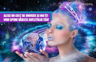 Alege un colt de univers si noi iti vom spune varsta sufletului tau!