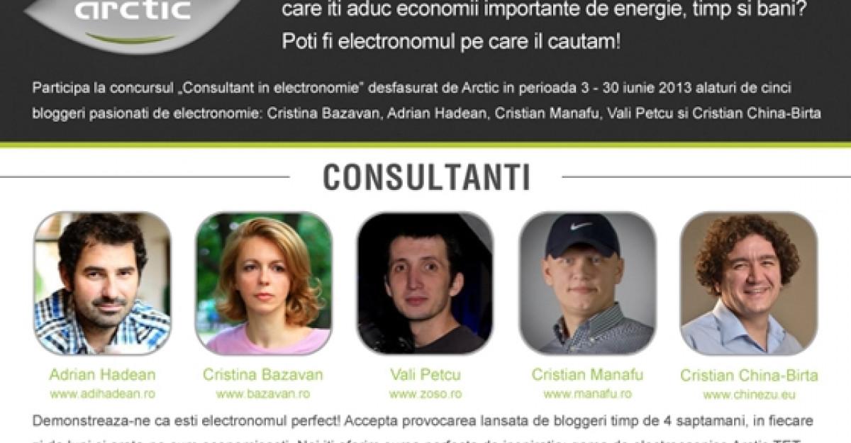 Fii expert in EleCtrONOMIE, cu Arctic!