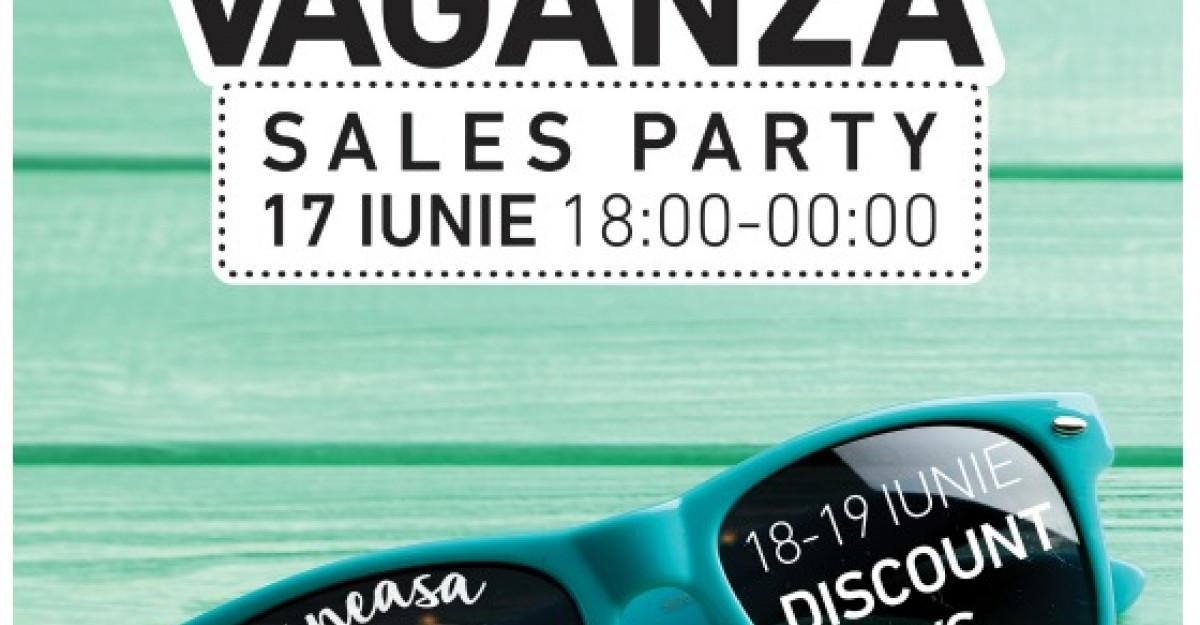 Shopping pana la miezul noptii si reduceri exclusive doar la Extravaganza Sales Party