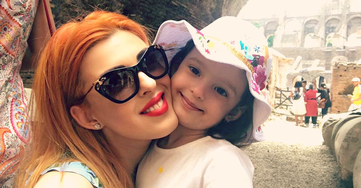 Diana Bisinicu: 'Felul in care Riana imi spune ce simte ma face sa fiu cea mai fericita mama'