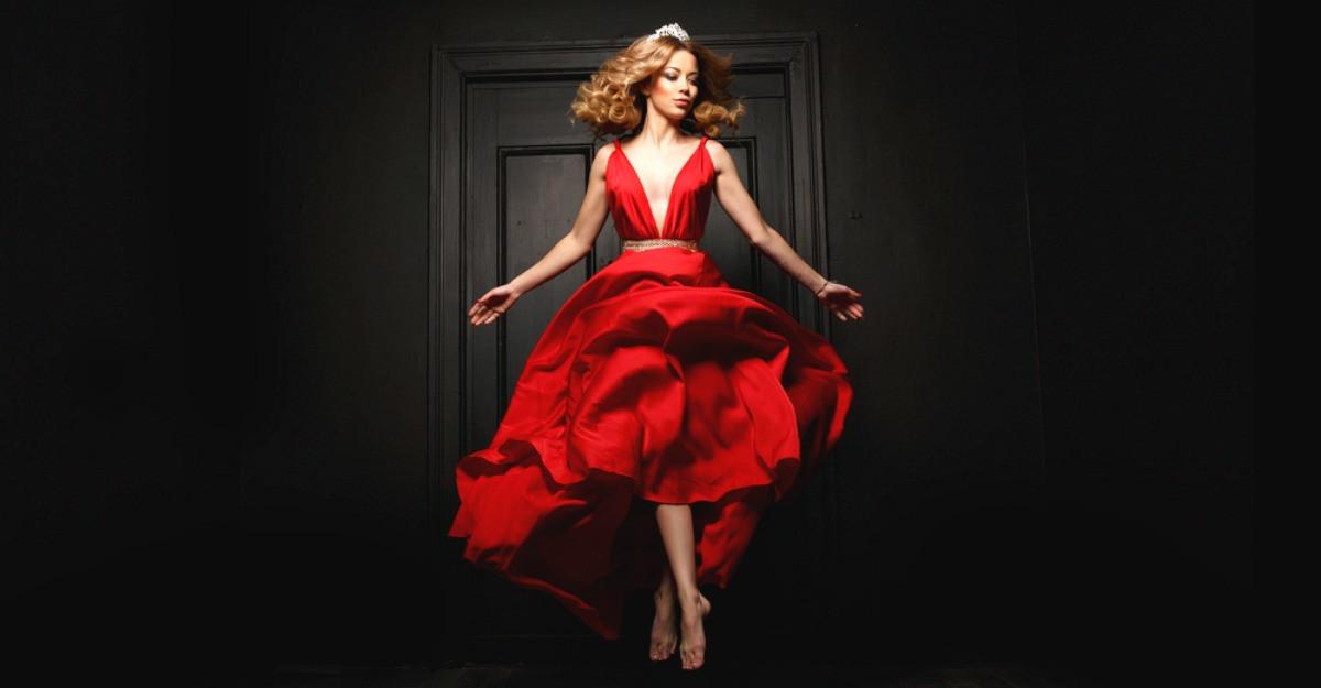 6 rochii roșii romantice pentru Valentine's Day