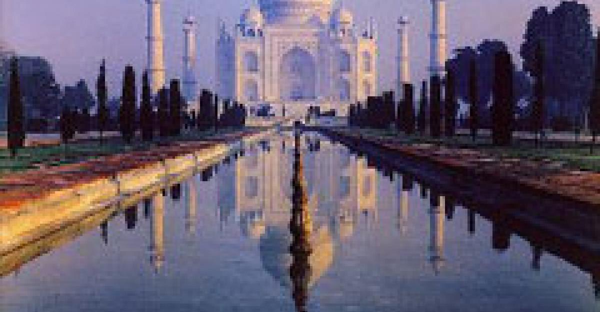 Taj Mahal - contemplare a iubirii vesnice