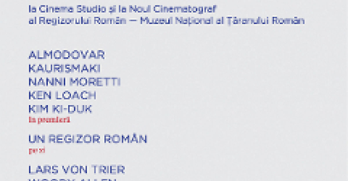Les Films de Cannes a Bucarest dezvaluie filmul-surpriza: