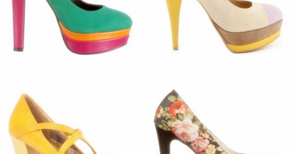 Cei mai frumosi 20 de pantofi colorati