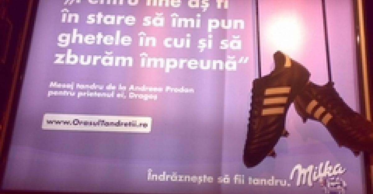 Campania Milka Indrazneste sa fii tandru a adus emotii in viata a 100.000 de romani