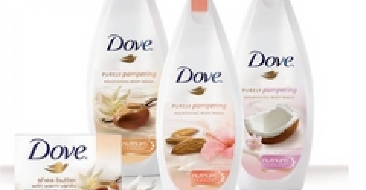 Cu noua gama Dove Purely Pampering, pielea ta nu s-a simtit niciodata mai rasfatata!