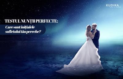 Testul nuntii perfecte: Care sunt initialele sufletului tau pereche?