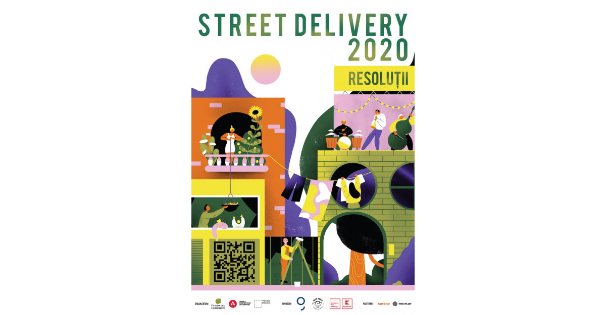 Street Delivery colorează întreg Bucureștiul pe 3-5 iulie!