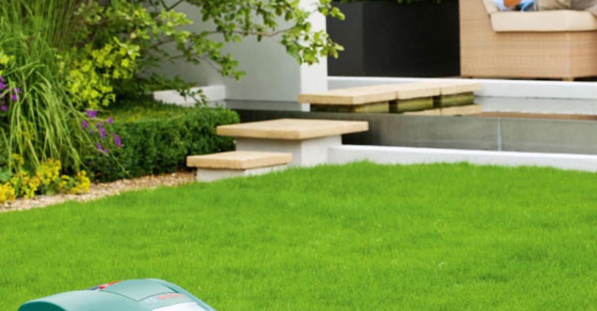 Robotul pentru gazon Indego de la Bosch tunde iarba singur si inteligent
