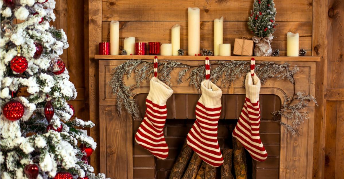5 șosete decorative de Crăciun pentru cadouri de sezon