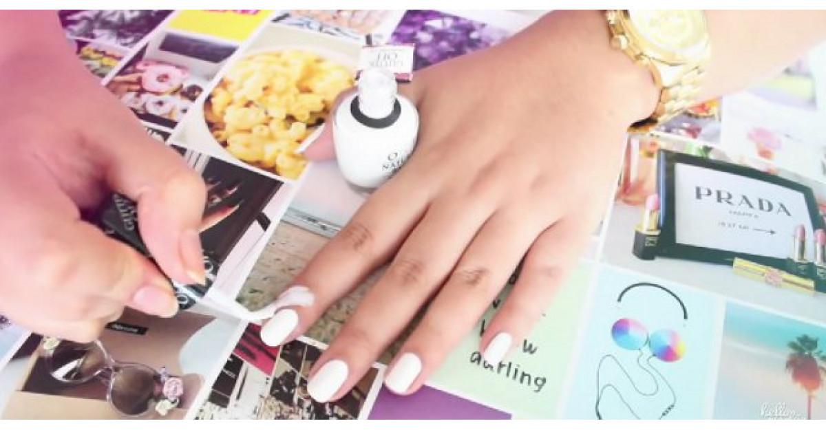 Video: Aplica oja in jurul unghiei. Motivul? Este GENIAL