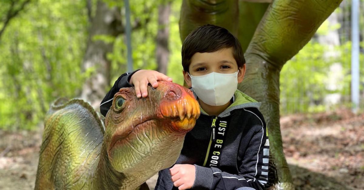 Parpiro. O mască de calitate înseamnă un copil protejat