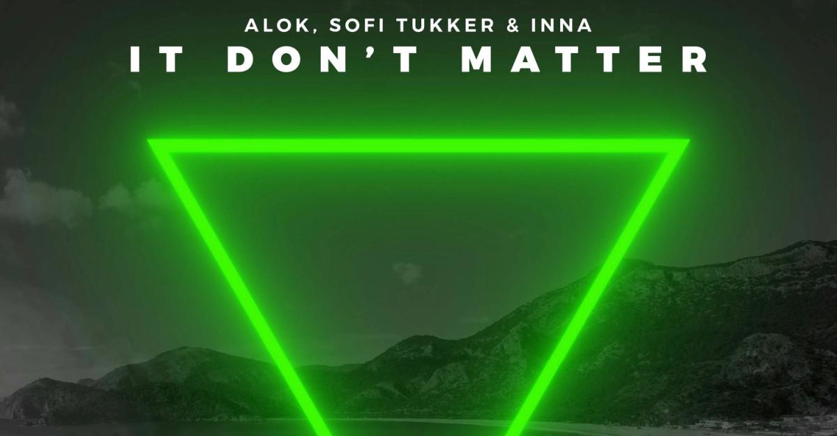 """INNA - super colaborare internațională cu Alok și Sofi Tukker pentru piesa """"It Don't Matter"""" exclusiv pe Spotify"""