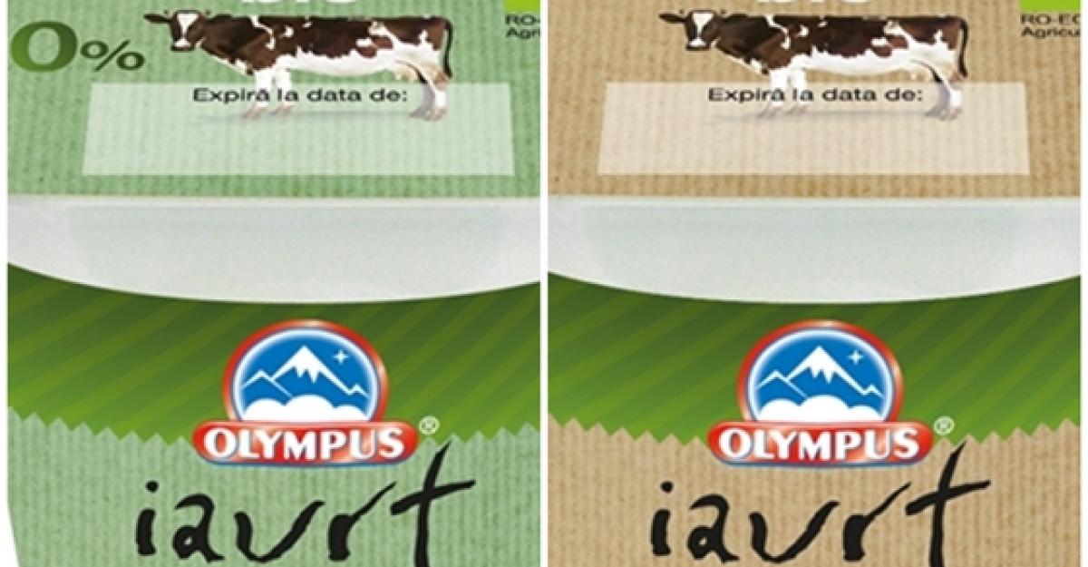 Olympus lanseaza, in premiera pentru piata din Romania, iaurtul bio produs local