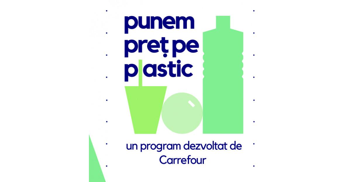 Carrefour România lansează un program de folosire responsabilă a plasticului și introduce plata cu PET-ul