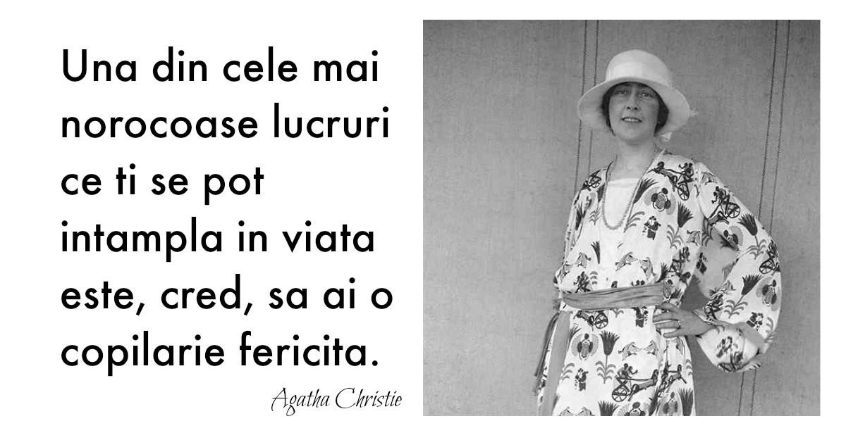 Alfabetul dragostei. Cele mai frumoase citate despre iubire dupa Agatha Christie