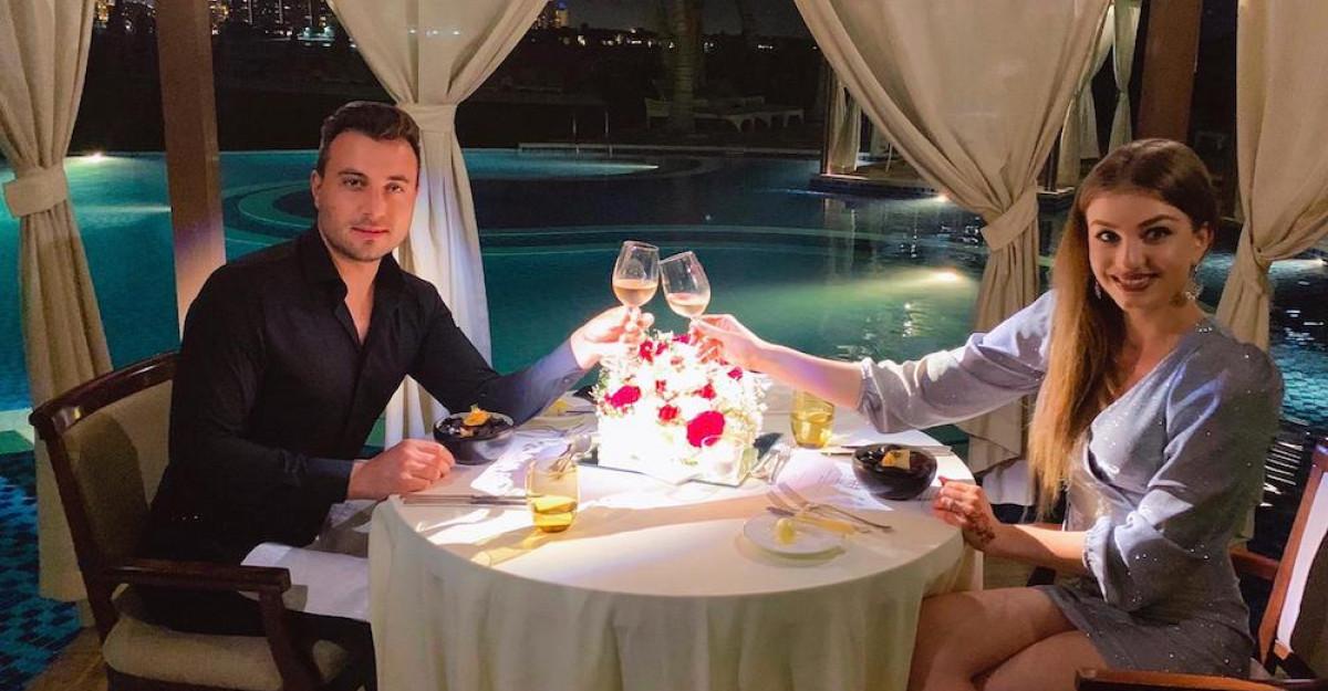 Valentin și Codruța Sanfira, vacanță de vis în Dubai