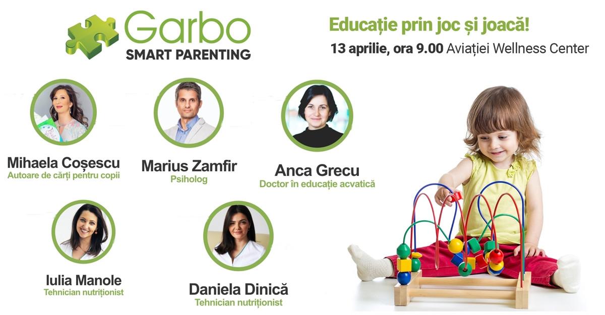 Smart Parenting: Jocurile educative stimulează dezvoltarea emoțională, cognitivă și fizică a copiilor