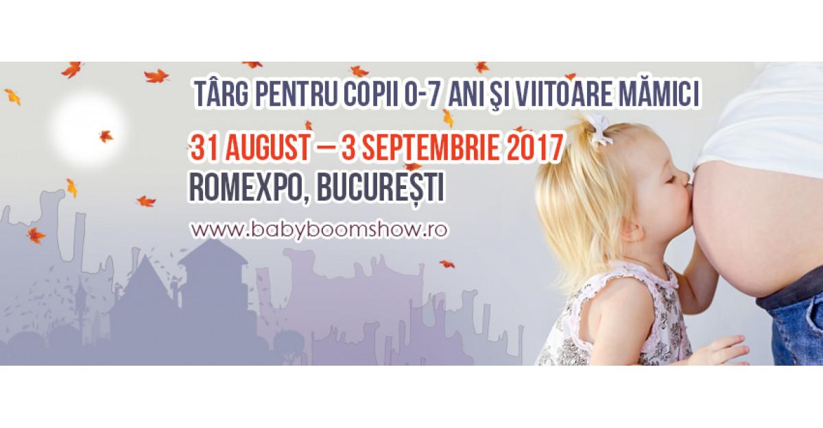 Baby Boom Show da startul toamnei la Romexpo