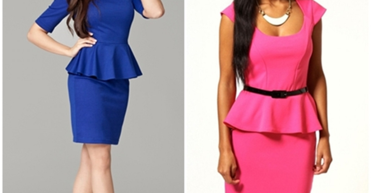 Fashion trend: Rochite peplum