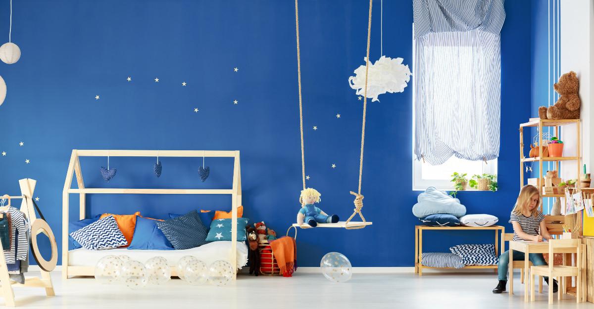 Camera copilului: mobilier și lenjerie de pat