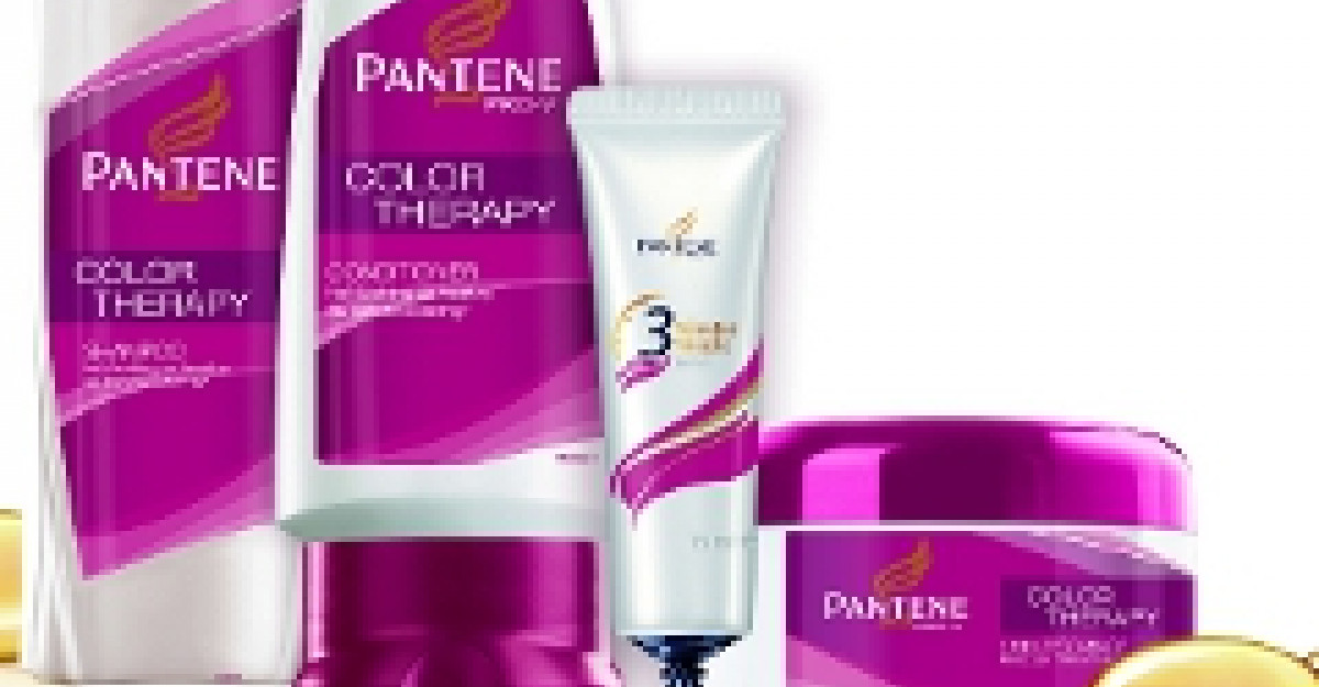 Noul Pantene Color Therapy