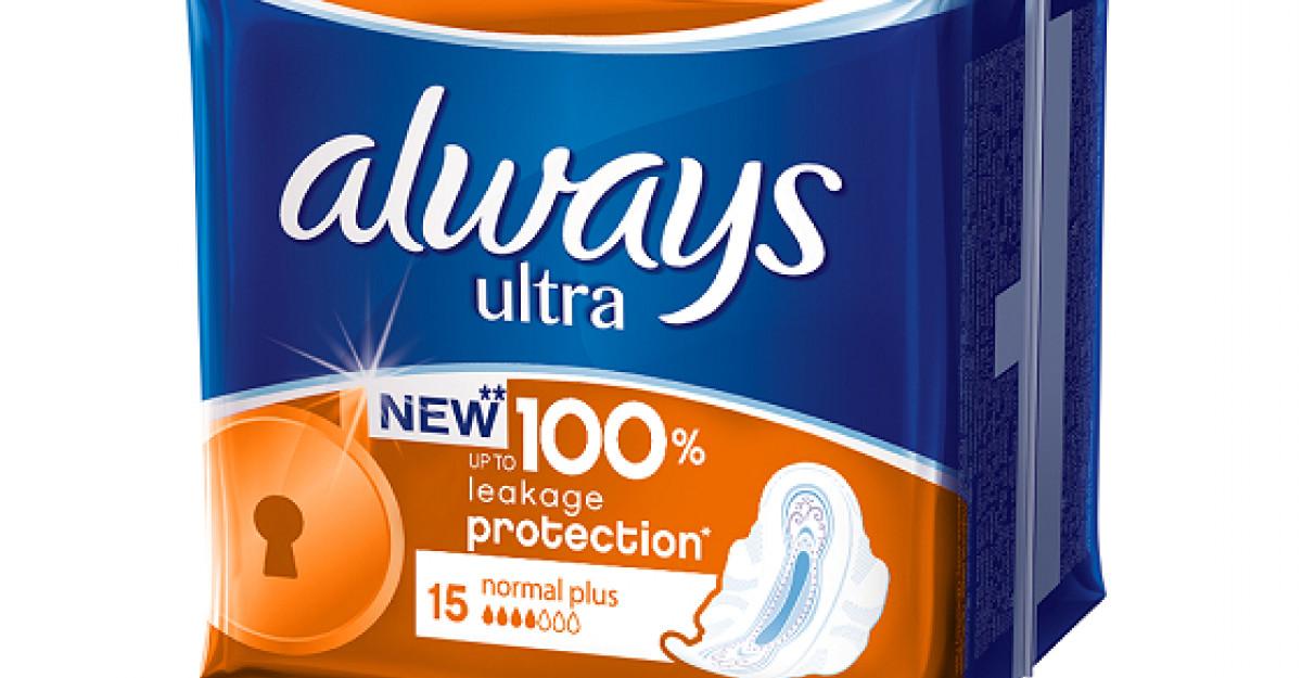 Noul Allways Ultra, absorbantul care iti ofera protective impotriva scurgerilor, in orice rasturnare de situatie