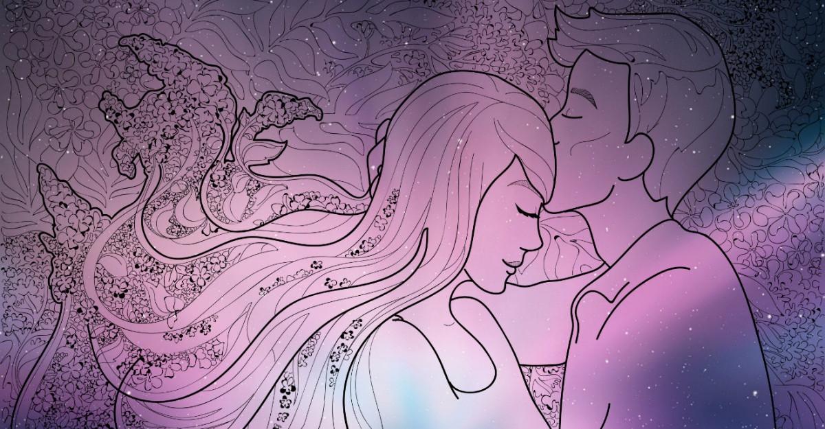 Simbolul sărutului pe frunte, cel mai puternic sărut (are o putere remarcabilă)