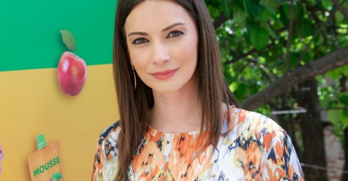 Interviu Andreea Berecleanu: Campanie 'Mousse si suc 100% - aici sunt vitaminele istete'
