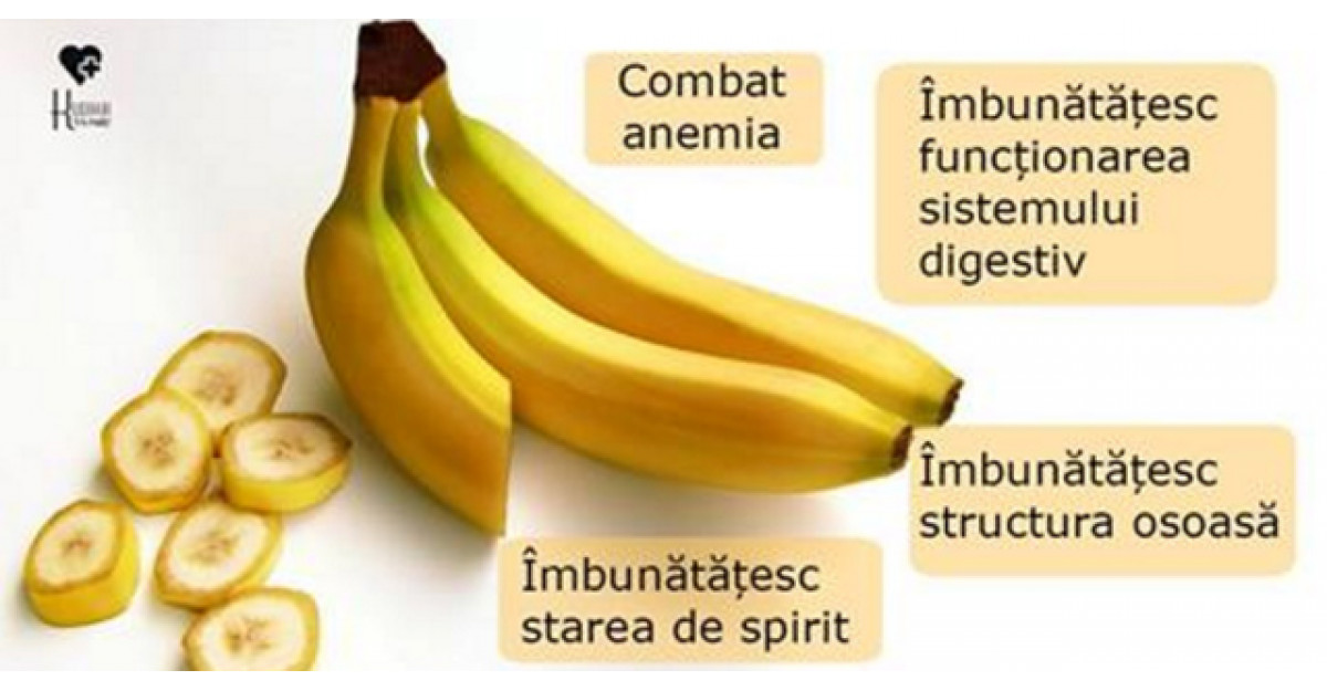 Beneficiile consumului de banane