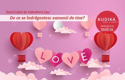 Testul iubirii de Valentine's Day: De ce se indragostesc oamenii de tine?
