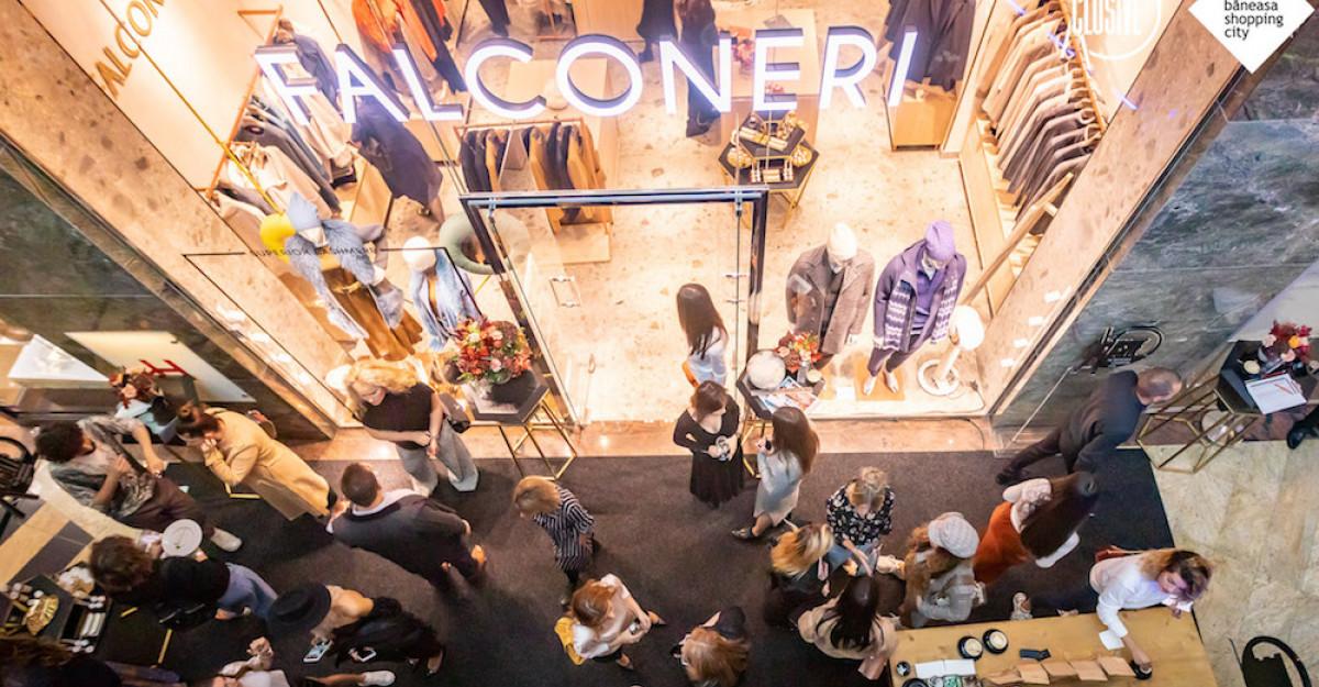 #XCLUSIVE BY BĂNEASA SHOPPING CITY continuă cu deschiderea primului magazin Falconeri