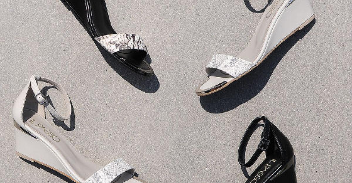 Stralucitoare cu sandalele IL PASSO