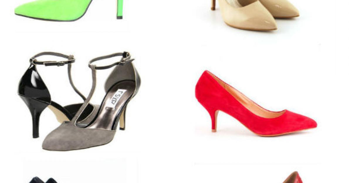 Pantofii cu toc - modele pentru noul sezon