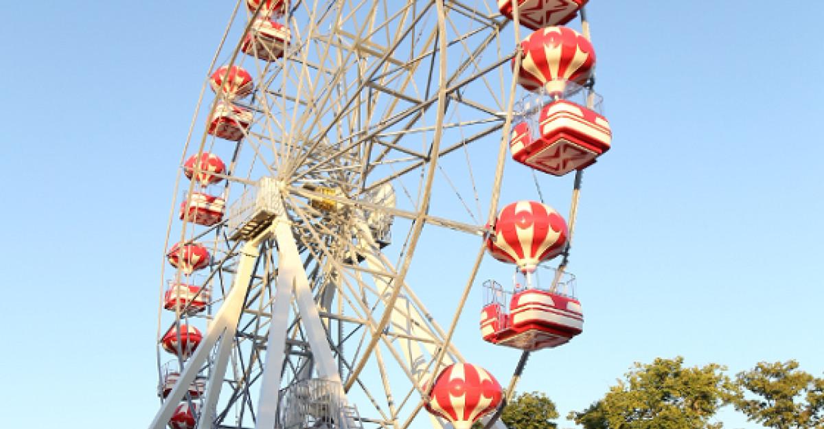 S-a deschis Miramagica Park, parcul de distractii cu cea mai inalta roata din Bucuresti