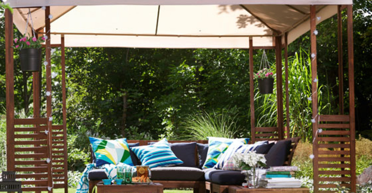 25 de piese de mobilier de exterior, pentru o vara frumoasa