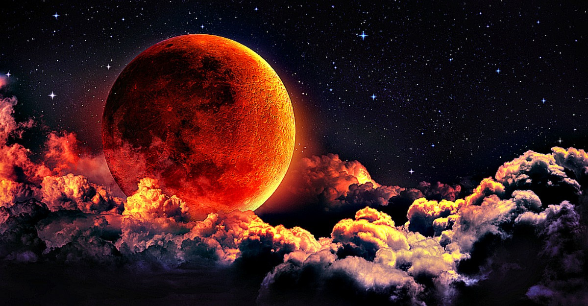 Prima Eclipsa de Luna din acest an de pe 10 Ianuarie ne elibereaza de trecut si ne vindeca sufletele