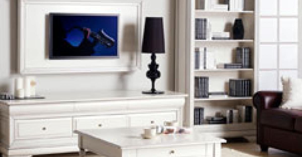 Tendinte 2012: piese de mobilier albe