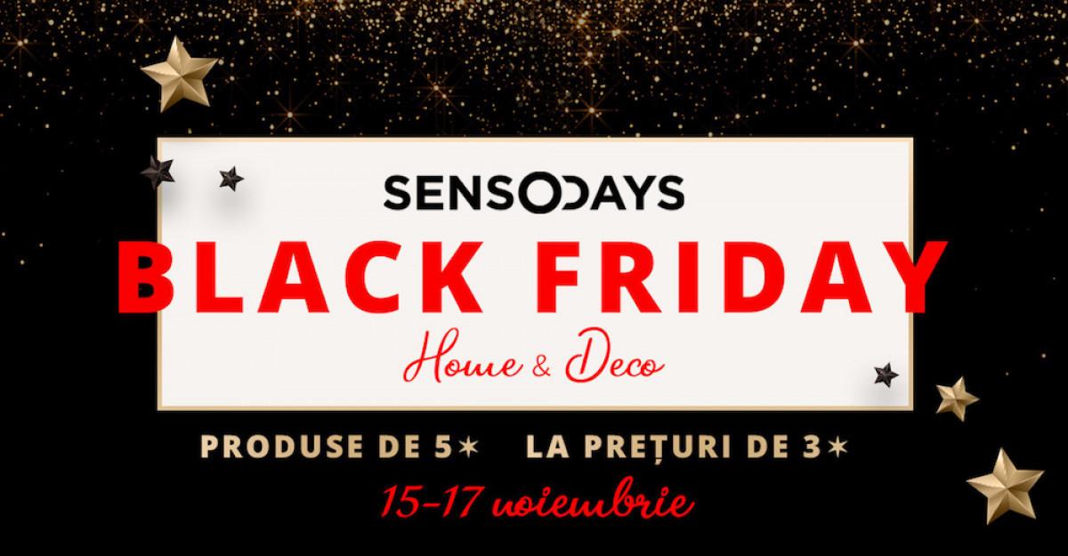 Pe SensoDays.ro ai un Black Friday pe gustul tau