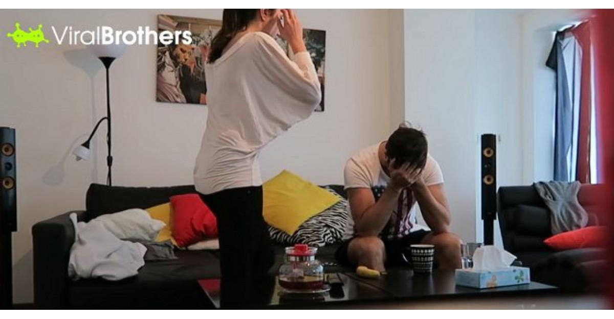 Video: Aceasta tanara isi minte iubitul ca este INSARCINATA. Ce face barbatul? GENIAL