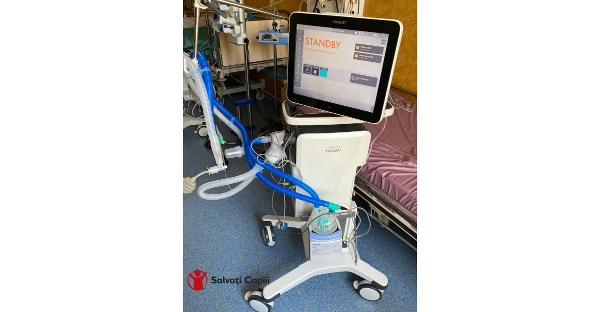 Spitalul Grigore Alexandrescu a primit ventilatorul de suport respirator de care avea nevoie!