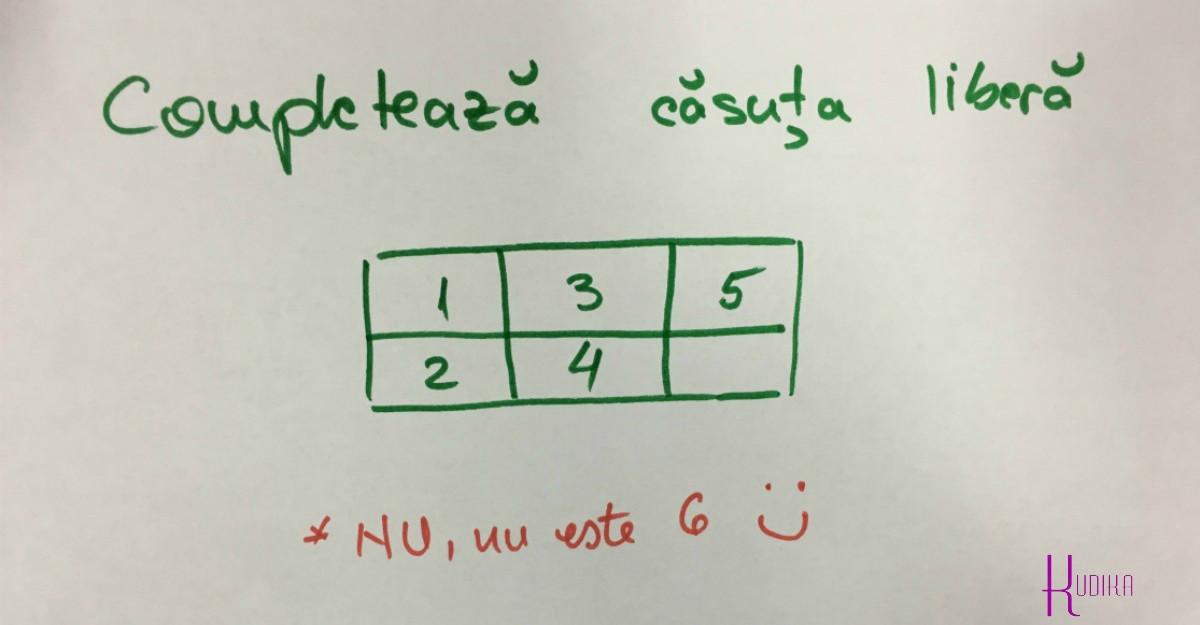 Un puzzle simplu, care nu are nicio treaba cu matematica!
